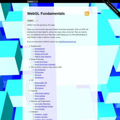 WebGL Fundamentals
