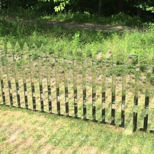 Invisible mirror fence