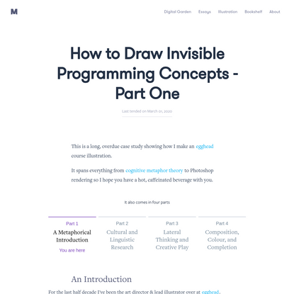 How to Draw Invisible Programming Concepts - Part One