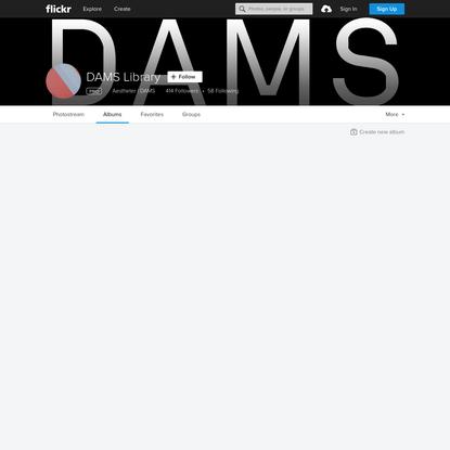 DAMS Library's albums   Flickr