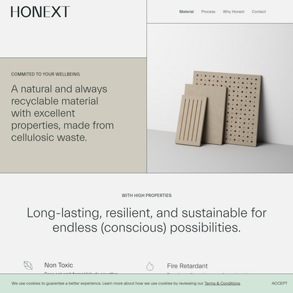 Eco MDF - Sustainable Building Boards with Medium density | Honext