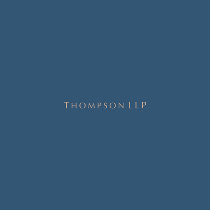 Thompson LLP   Corporate & Intellectual Property Law