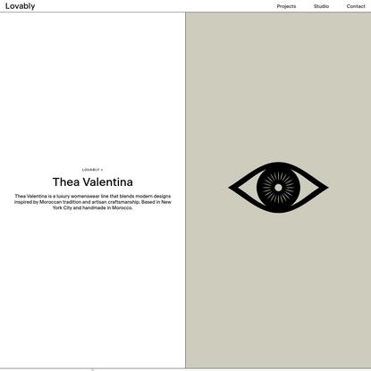 Thea Valentina - Fashion Branding - Lovably