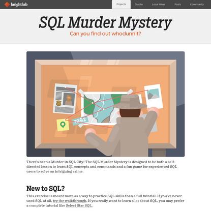 SQL Murder Mystery
