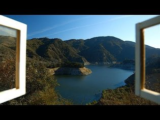 Mountain Lake View - Relaxing Video w/Natural Sounds - Stress Relief, Calm, Yoga, Meditation, Focus