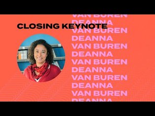 Black in Design 2019: Closing Keynote: Deanna Van Buren