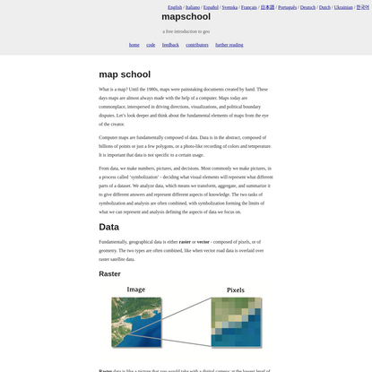mapschool