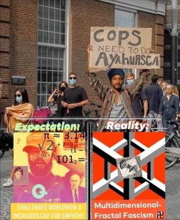 COPS NEED AYAHUASCA: EXPECTATION VS REALITY