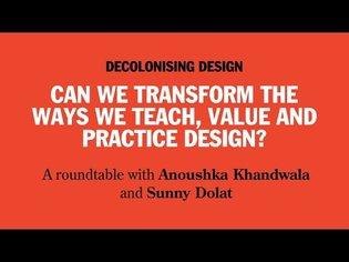 Decolonising Design - WDCD x Dezeen - Virtual Design Festival