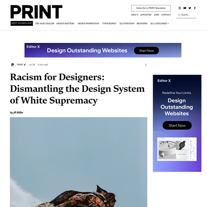 Racism for Designers: Dismantling the Design System of White Supremacy