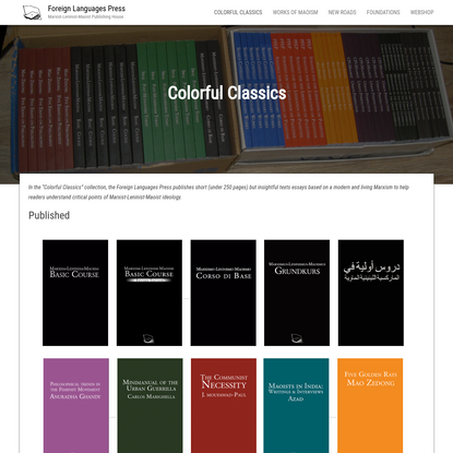 Colorful Classics