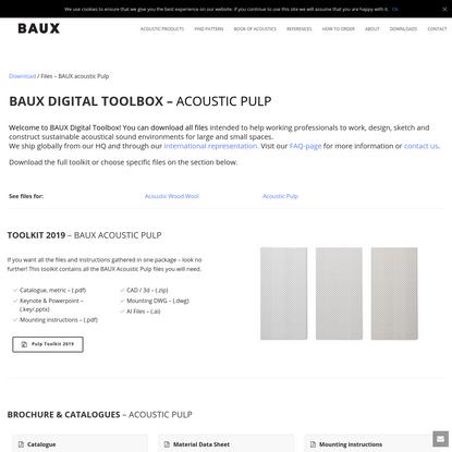BAUX Digital Toolkit Wood Wool