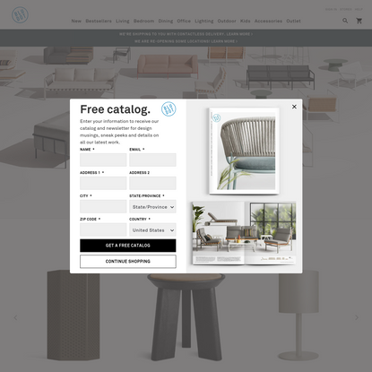 Modern & Contemporary Furniture Designs Online | Blu Dot