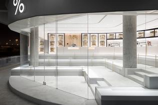 % ARABICA Kuwait Abu Al Hasaniya, Nendo Design, 2019