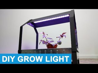 Making a Time Controlled Plant Grow Light