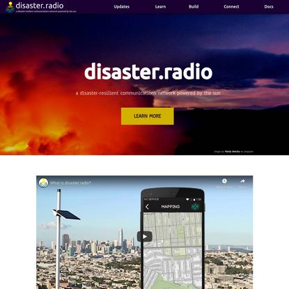 disaster.radio