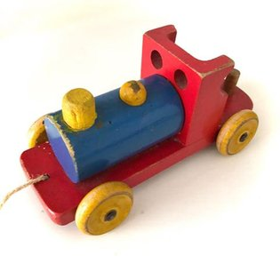 Train time! Escor Toys Having fun researching and photographing wooden toys for our forthcoming book on Abbatt Toys. Escor T...