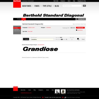Berthold Standard® Diagonal BQ