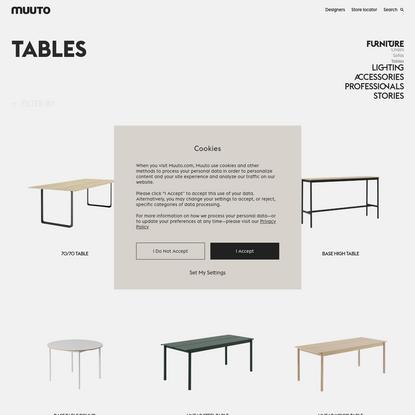 Tables from Muuto | Simple Scandinavian design
