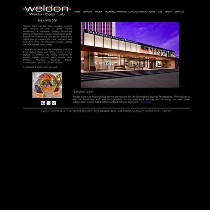 Weldon Color Lab - Los Angeles, CA