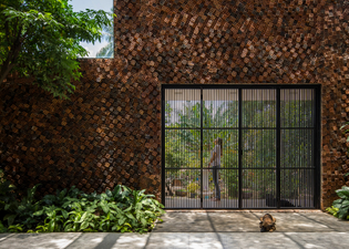 Wall House, Bien Hoa, Vietnam (designed by CTA Creative Architects)