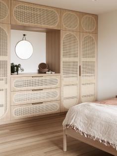 Storage detail in Sorrento House, Melbourne (designed by Larritt-Evans)