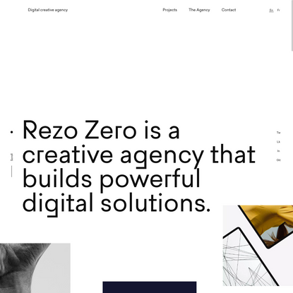 Rezo Zero * Digital creative agency