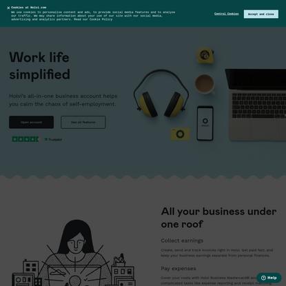 Calm the chaos of self-employment | Holvi Europe