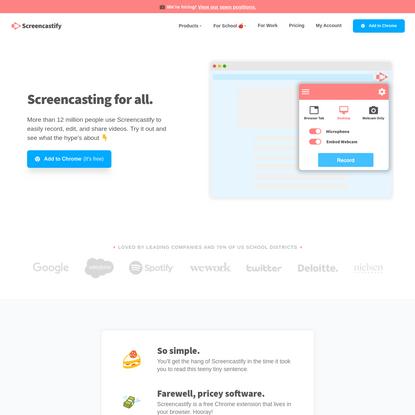 Screencastify