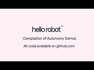 Stretch RE1 Autonomy Demo Compilation