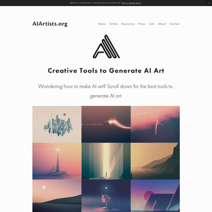 AI Art Generators: How to Make AI Art (2020 GUIDE) - AIArtists.org