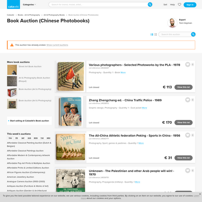 Book Auction (Chinese Photobooks)