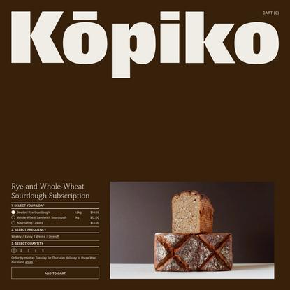 Kōpiko | Kopiko NZ