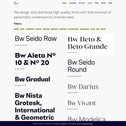 Fonts - Branding with Type