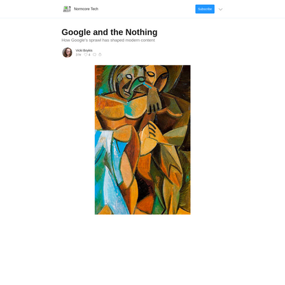 Google and the Nothing