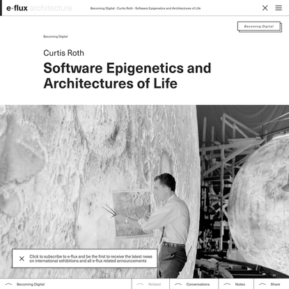 Software Epigenetics and Architectures of Life