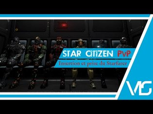 Star Citizen Gameplay France   Attaque Du Starfarer Sur Arial   PvP