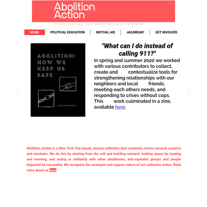 HOME | Abolition Action