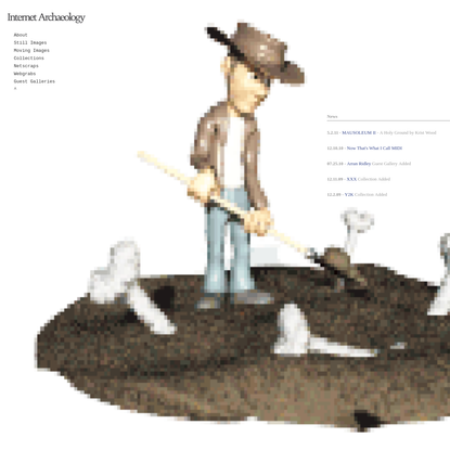 Internet Archaeology