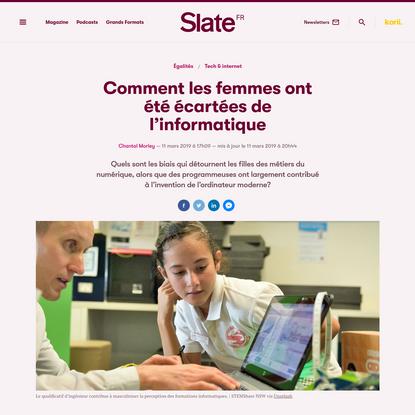 Comment les femmes ont été écartées de l'informatique | Slate.fr