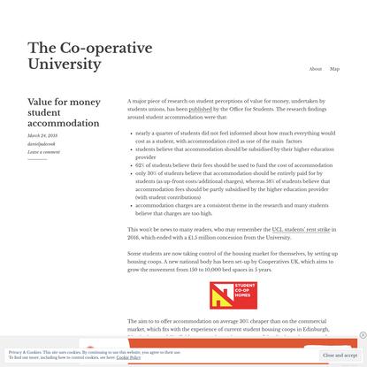 The Co-operative University