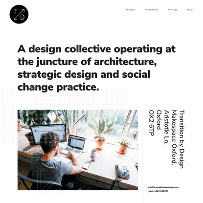 A design collective operating at the juncture of architecture, strategic design and social change practice.
