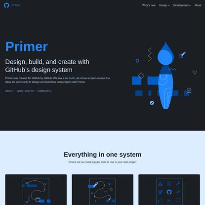 Primer Design System