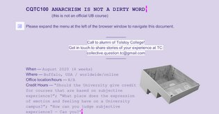 CQTC100 ANARCHISM IS NOT A DIRTY WORD