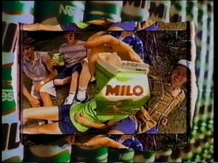 Milo drink ad mid 90's with surfers