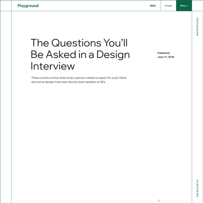 The Questions You'll Be Asked in a Design Interview