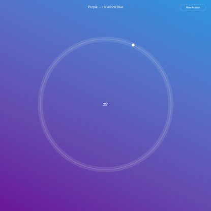 Gradient by ShapeFactory | Purple → Havelock Blue