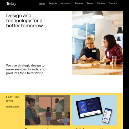 Creating brighter futures   Strategic Design Agency   Today