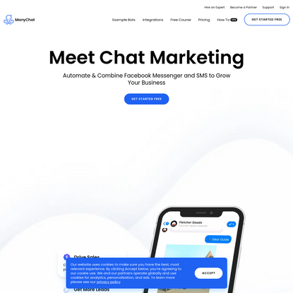 Messenger Bot Marketing Made Easy with ManyChat