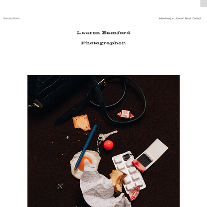 Still Life, Lifestyle, Food, Documentary, Travel and Portrait Photographer - Melbourne Australia - Lauren Bamford